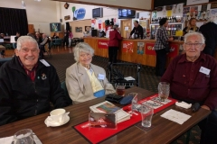 Maurice Cook, Kath Clements, Jack Peden life members