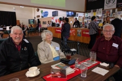 Life members - Maurice Cook, Kath Clements, Jack Peden