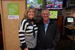 Debbie Dalbeth and John Joensen